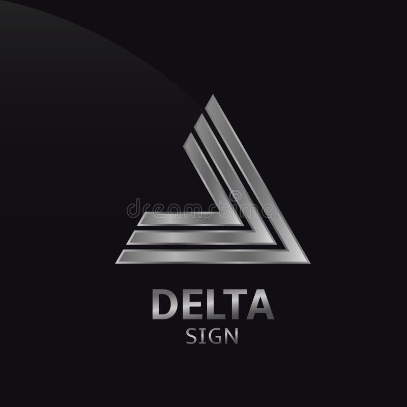 Signe de delta illustration libre de droits
