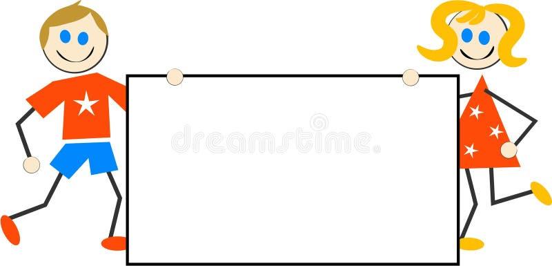 Download Signe de gosses illustration de vecteur. Illustration du filles - 88653