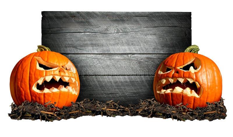 Signe de Halloween illustration libre de droits