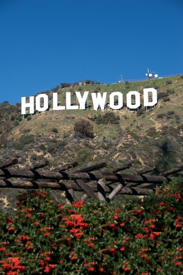 Signe de Hollywood photos libres de droits