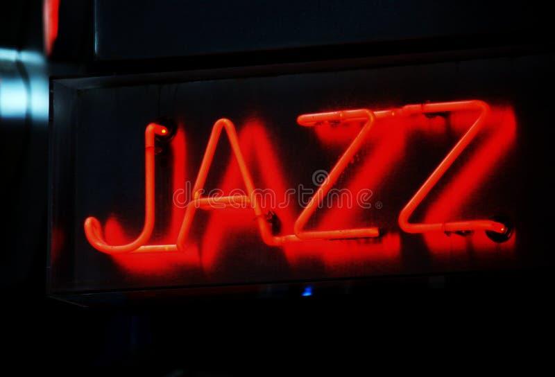 Signe de jazz photo stock