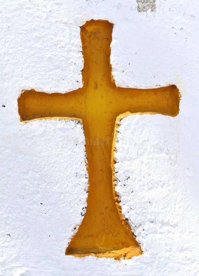 Signe de la croix image libre de droits