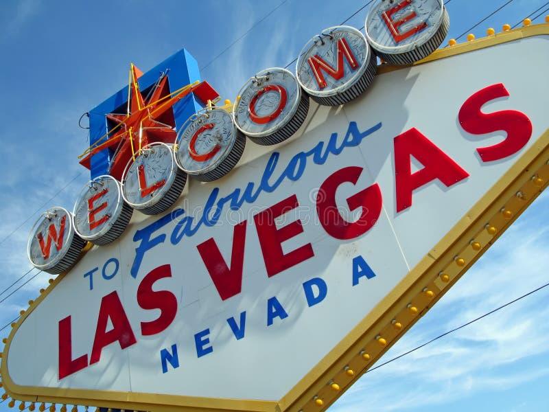 Signe de Las Vegas photos stock