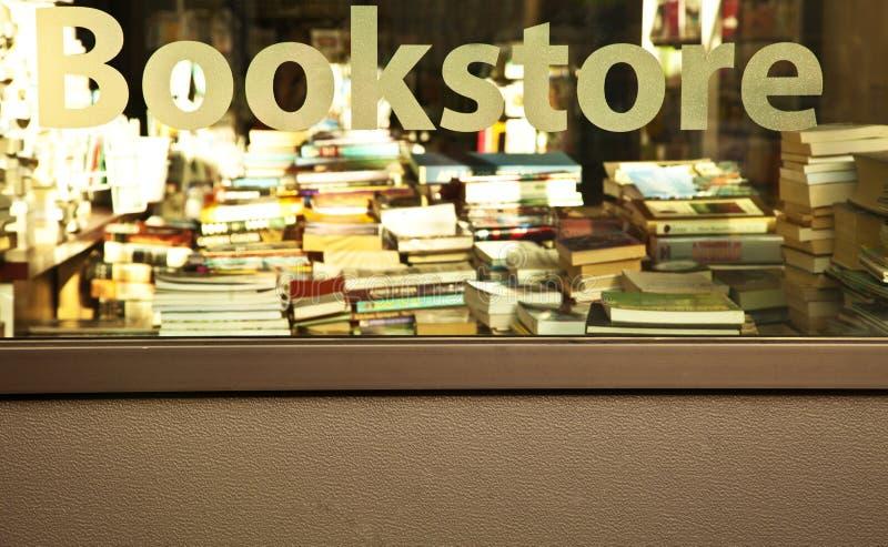 Signe de librairie photographie stock