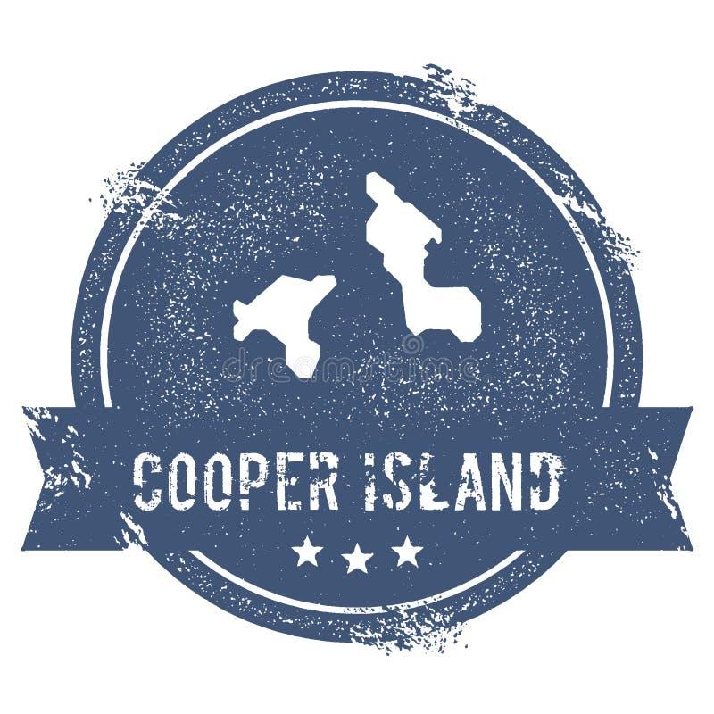 Signe de logo d'Island de tonnelier illustration de vecteur