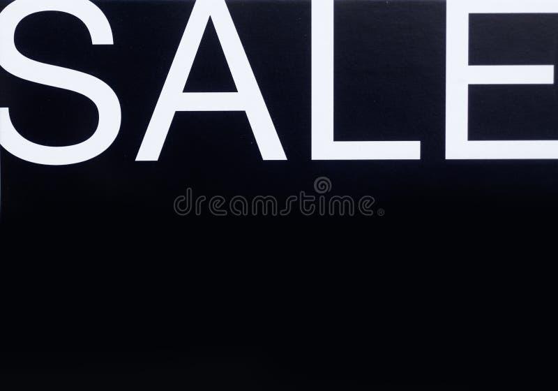 Signe de mémoire de vente image stock