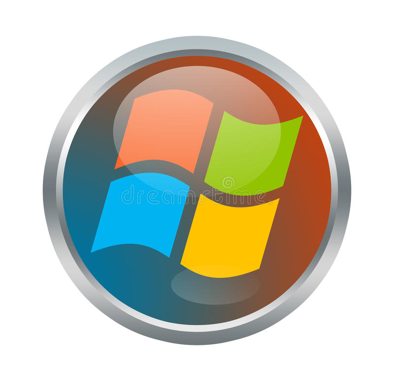 Signe de Microsoft Windows illustration stock
