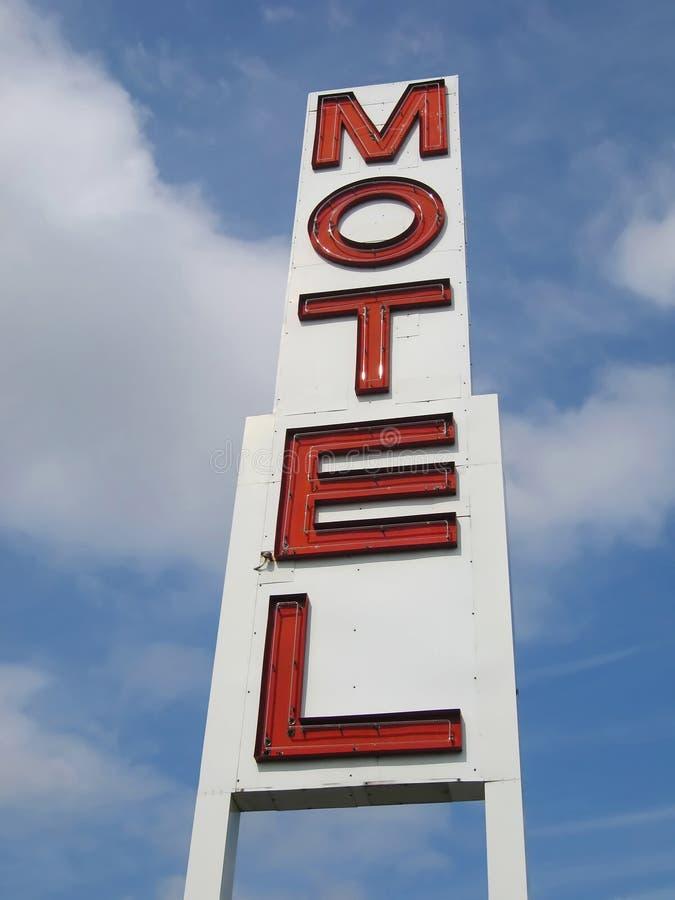 Signe de motel photographie stock libre de droits