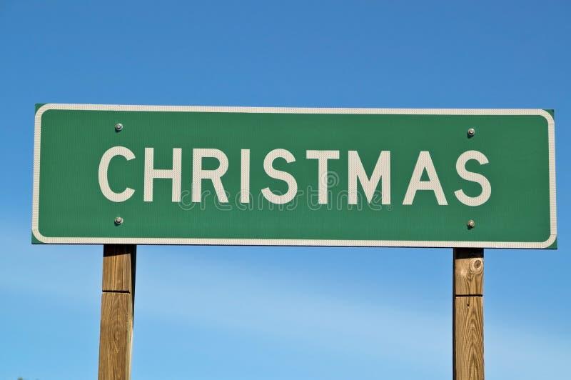 Signe de Noël photos libres de droits