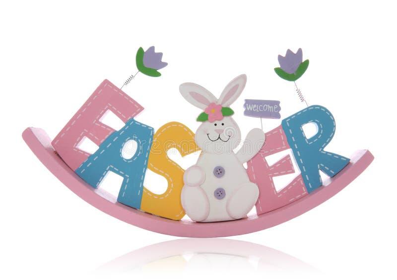 Signe de Pâques photo stock