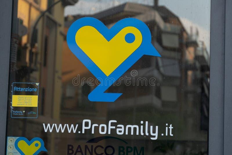 Signe de ProFamily image stock