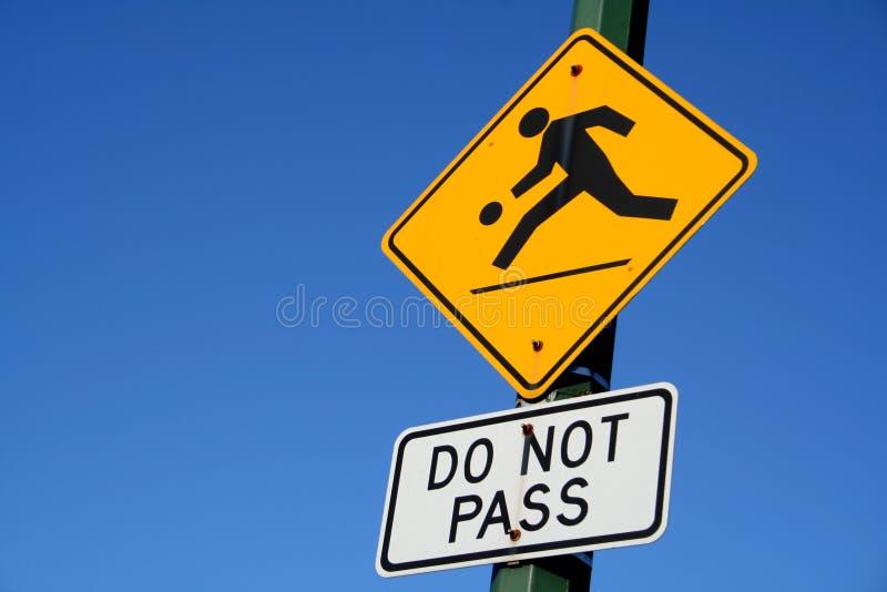 Signe de route photos libres de droits
