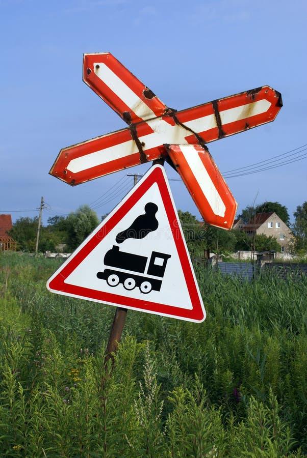 Signe de route images stock