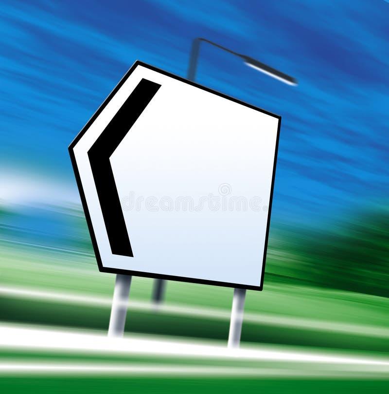 Signe de route illustration de vecteur