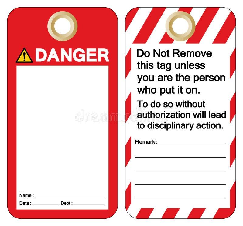 Signe de symbole de label de calibre d'étiquette de danger, illustration de vecteur, isolat sur le fond blanc EPS10 illustration libre de droits