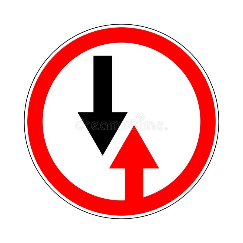 signe de Trafic-route illustration de vecteur