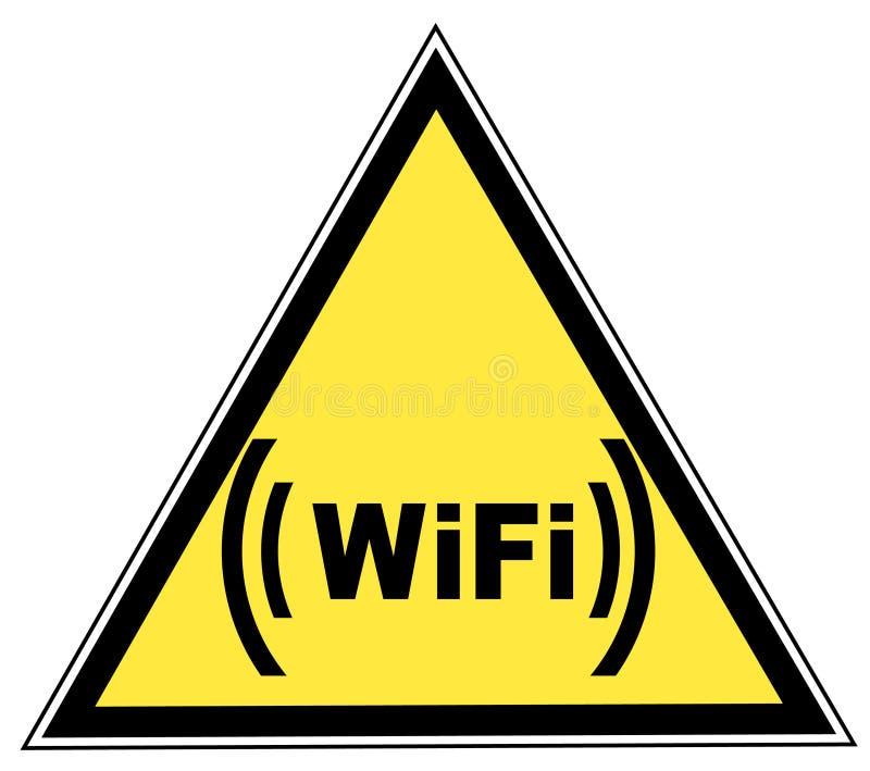 Signe de Wifi illustration de vecteur