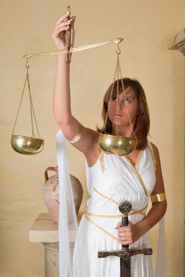 Signe de zodiaque de Balance photographie stock libre de droits