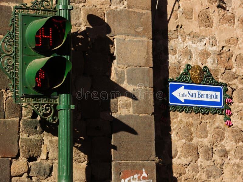 Download Signe dedans Cusco, Pérou photo éditorial. Image du aube - 77151186