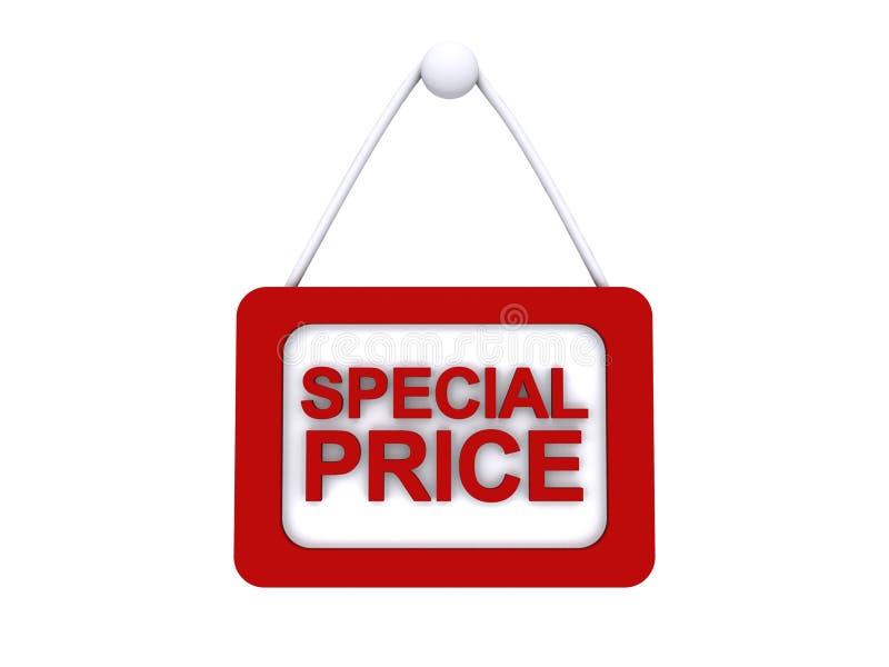 Signe des prix spéciaux illustration stock
