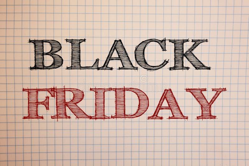 Signe des textes montrant Black Friday Les ventes spéciales de photos conceptuelles après des achats de thanksgiving escompte le  image libre de droits