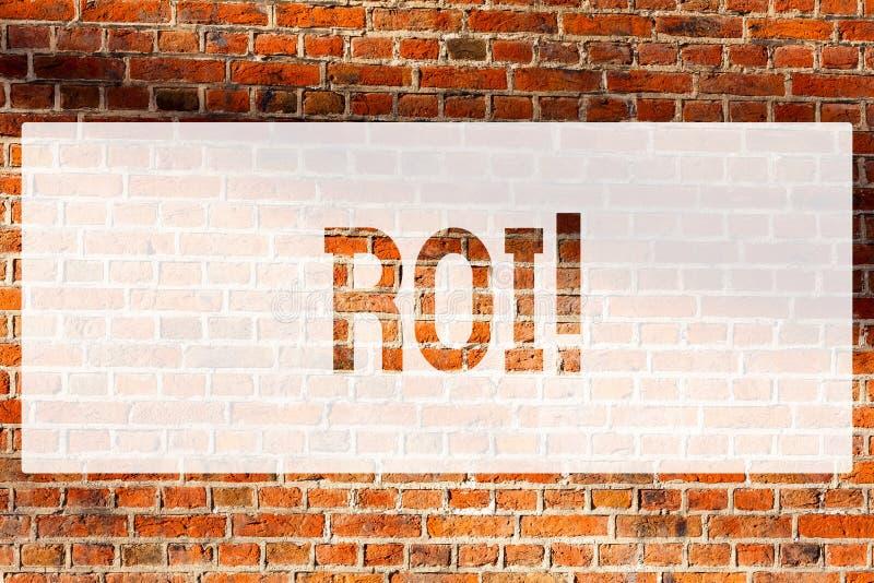 Signe des textes montrant le ROI Retour conceptuel de photo sur l'évaluation de mesure de Perforanalysisce de bénéfice d'un mur d photos stock