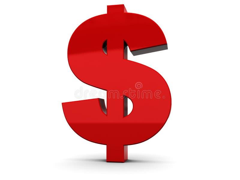 Signe du dollar illustration libre de droits