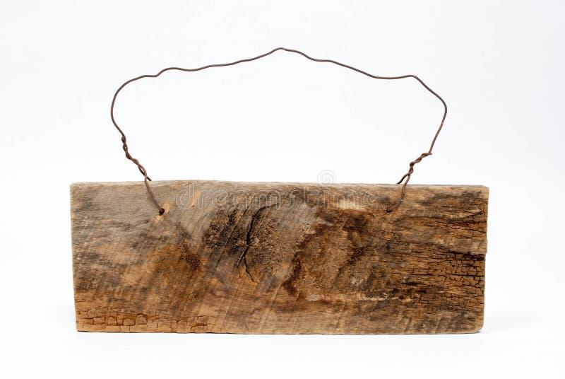 Signe en bois rustique images libres de droits