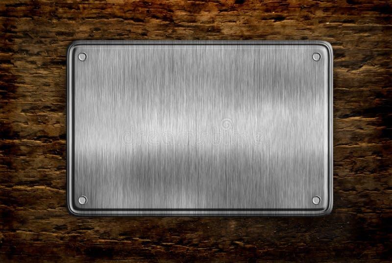 Signe en métal photographie stock