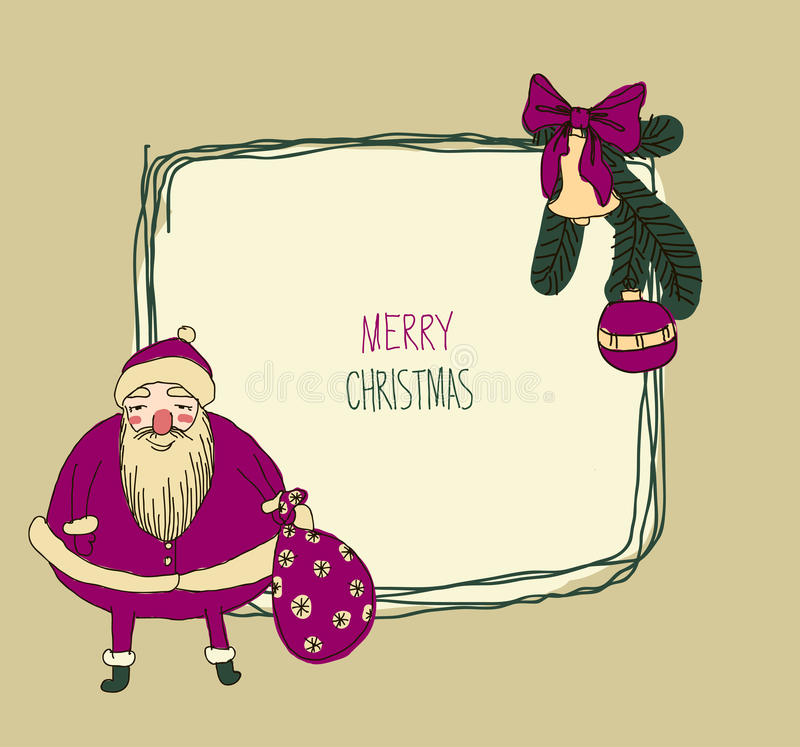 Download Signe En Métal De Vintage - Joyeux Noël Illustration de Vecteur - Illustration du configuration, fond: 45366777