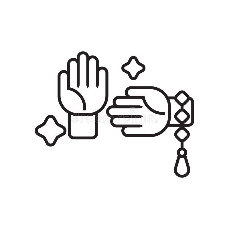 Signe et symbole de vecteur d'icône d'arts martiaux d'isolement sur le backg blanc illustration de vecteur