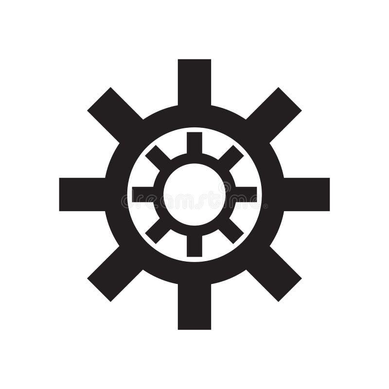 Signe et symbole de vecteur d'icône d'astérisque d'isolement sur le fond blanc, concept de logo d'astérisque illustration libre de droits