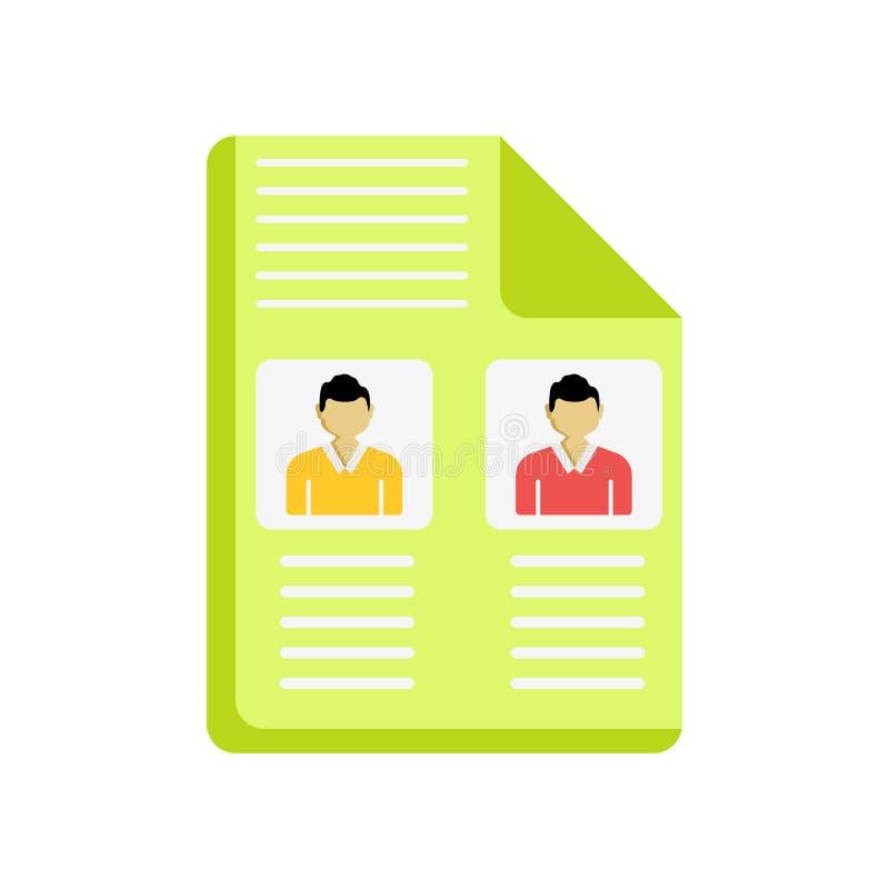Signe et symbole de vecteur d'icône de candidats d'isolement sur le backgro blanc illustration de vecteur