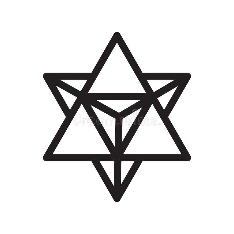 Signe et symbole de vecteur d'icône de combinaison d'isolement sur le backgr blanc illustration libre de droits