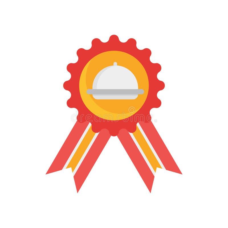 Signe et symbole de vecteur d'icône de garantie d'isolement sur le backgrou blanc illustration stock