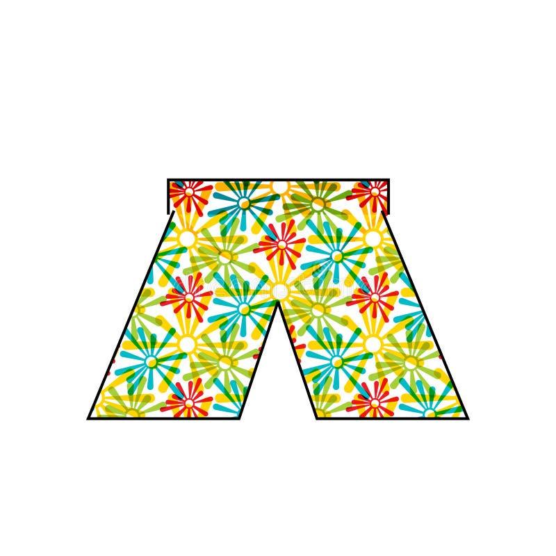 Signe et symbole de vecteur d'icône de maillot de bain d'isolement sur le fond blanc, concept de logo de maillot de bain illustration de vecteur