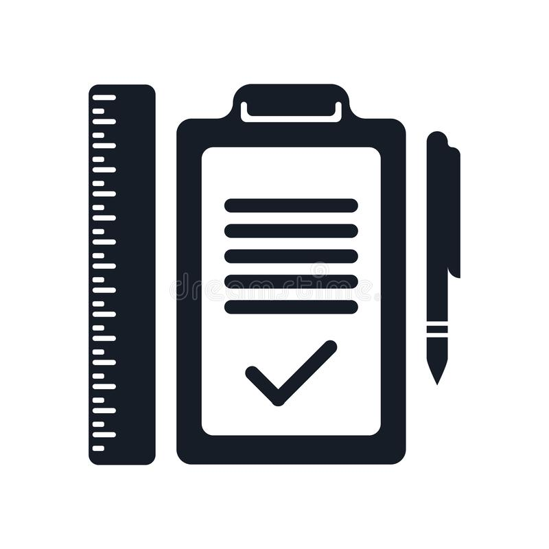 Signe et symbole de vecteur d'icône de plan d'isolement sur le fond blanc, concept de logo de plan illustration de vecteur