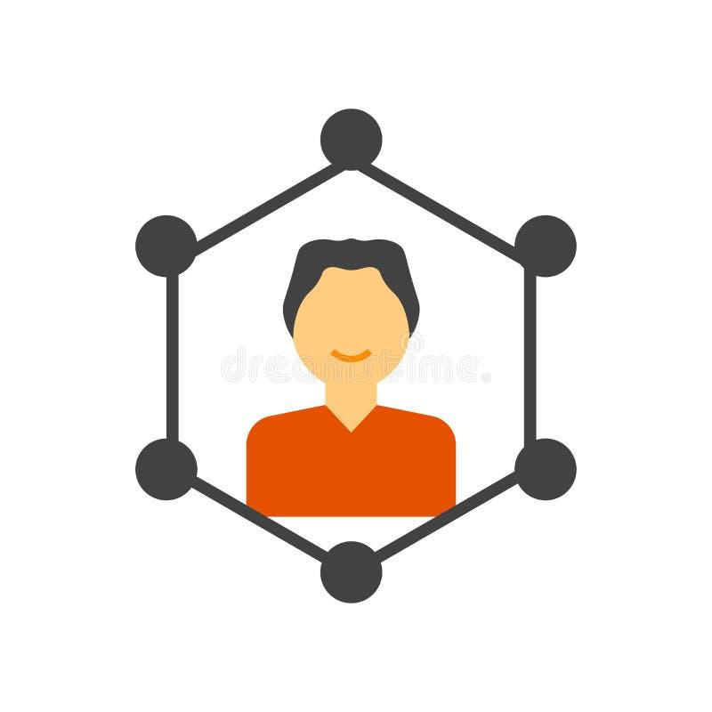 Signe et symbole de vecteur d'icône de qualifications d'isolement sur le fond blanc, concept de logo de qualifications illustration stock