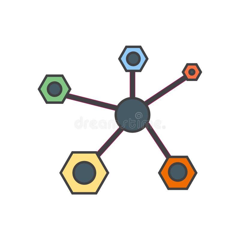 Signe et symbole de vecteur d'icône de structure d'isolement sur le fond blanc, concept de logo de structure illustration stock