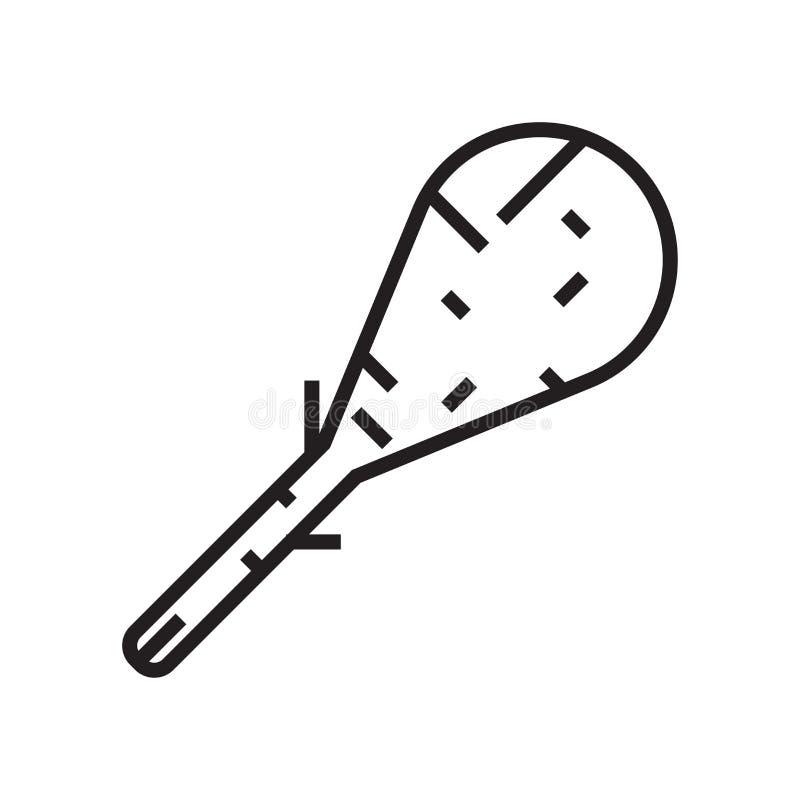 Signe et symbole de vecteur d'icône de trique d'isolement sur le fond blanc illustration de vecteur
