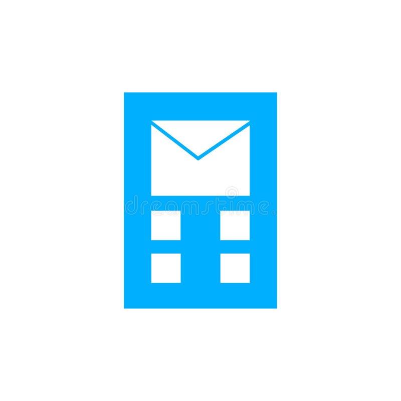Signe et symbole de vecteur d'icône de Wireframe d'isolement sur le fond blanc, concept de logo de Wireframe illustration stock