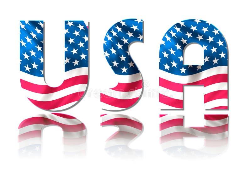 signe Etats-Unis illustration de vecteur