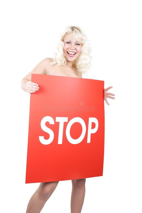 Signe féminin photo libre de droits