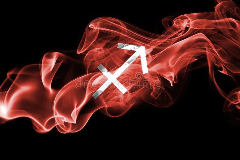 Signe fumeux d'astrologie de zodiaque de Sagittaire pour l'horoscope image stock