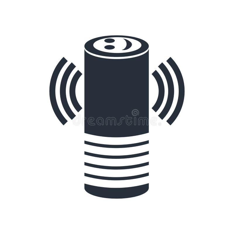 Signe futé et symbole auxiliaires de vecteur d'icône d'isolement sur le fond blanc, concept auxiliaire futé de logo illustration de vecteur