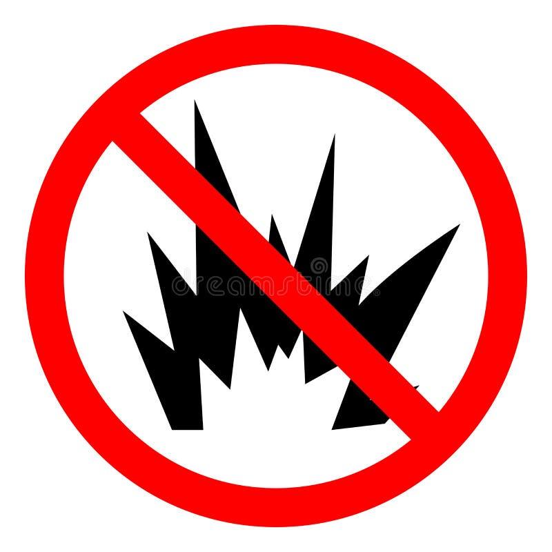 Signe instantané de symbole de risque d'arc de risque de blessure, illustration de vecteur, isolat sur le label blanc de fond EPS illustration libre de droits