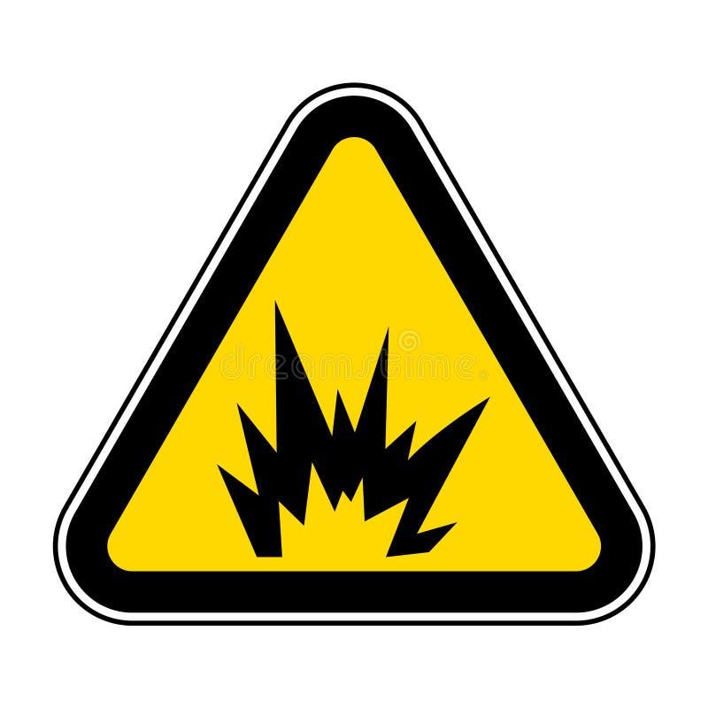 Signe instantan? de symbole de risque d'arc, illustration de vecteur, isolat sur le label blanc de fond EPS10 illustration libre de droits