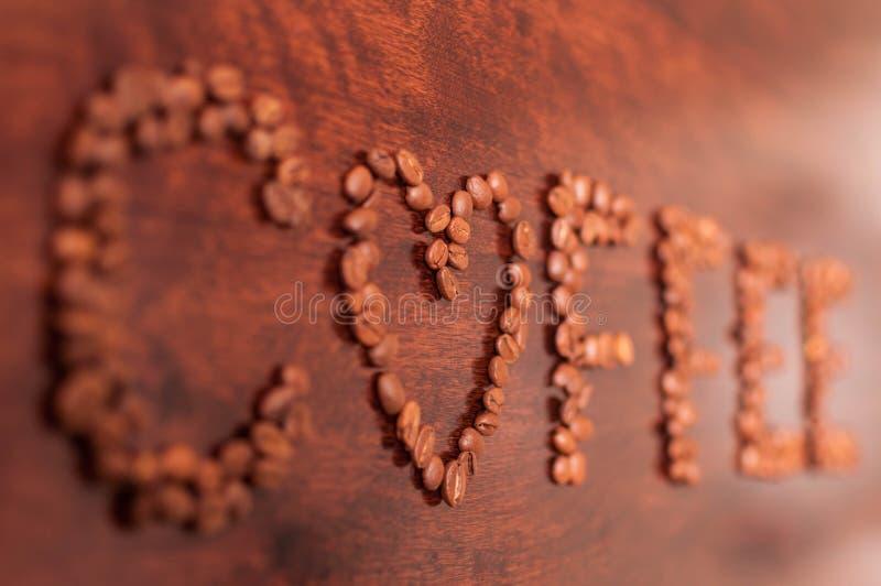 Signe IV de Cofee photo libre de droits