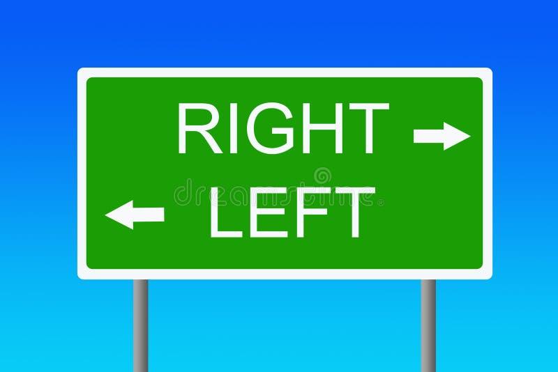 Signe logique illustration libre de droits