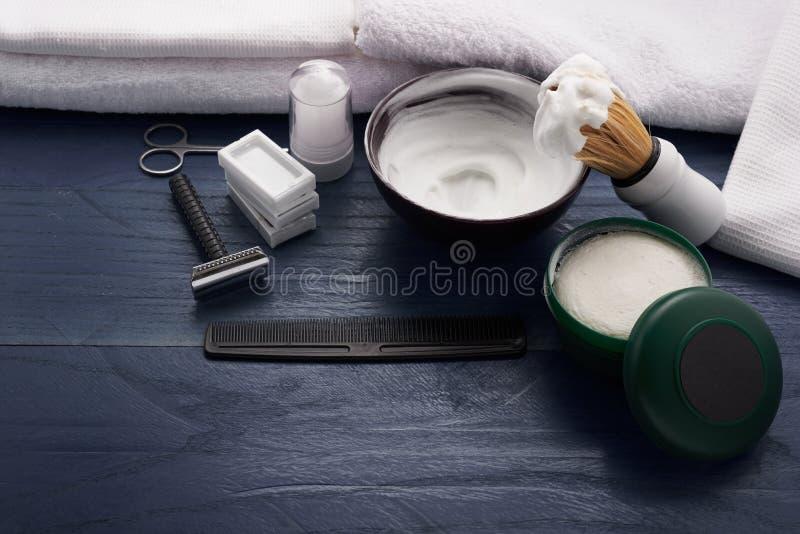 Download Signe Moderne Pour Le Raseur-coiffeur Masculin Photo stock - Image du soin, raseur: 77154696